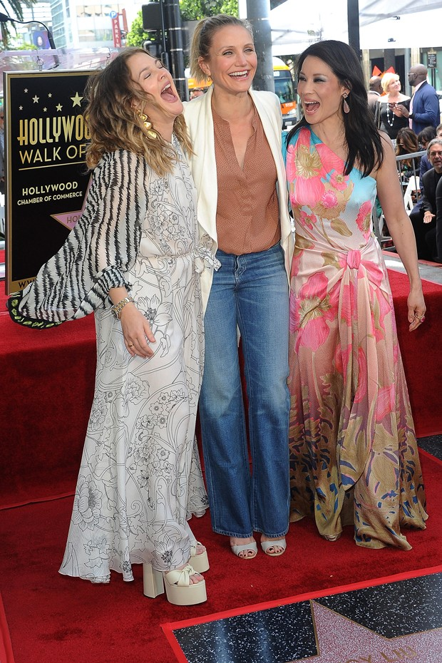 Drew Barrymore, Cameron Diaz e Lucy Liu (Foto: Getty Images)