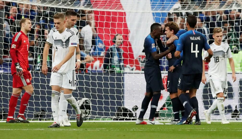 Alemanha já perdeu dois jogos após a Copa do Mundo — Foto:  REUTERS/Benoit Tessier