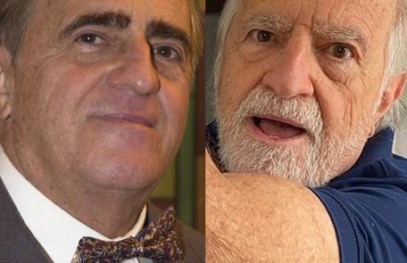 Sucesso nas redes sociais aos 87 anos, Ary Fontoura fez uma participação especial como Ludovico, o dono da fábrica de chocolates Reprodução