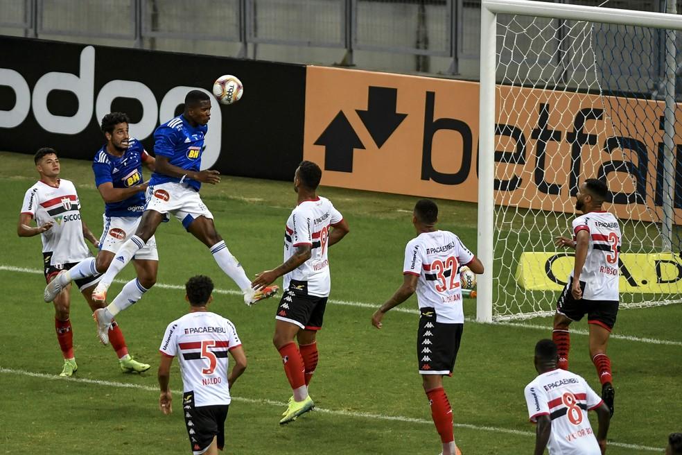 Cruzeiro estreou com vitória na Série B — Foto: Divulgação / Mineirão