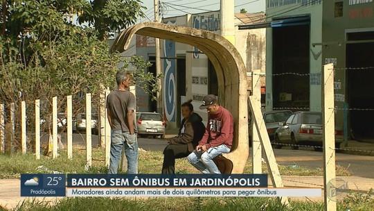 Moradores reivindicam circulação de ônibus urbano em bairro de Jardinópolis, SP