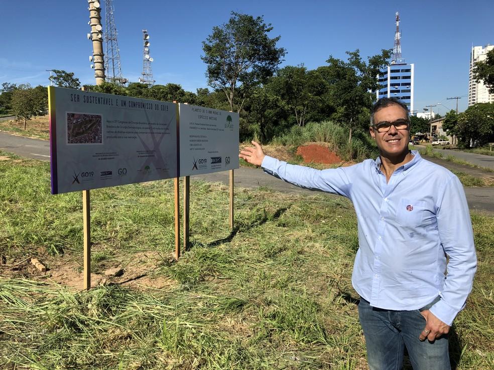 Ação no Parque Serrinha foi patrocinada pela multinacional Bayer — Foto: Divulgação