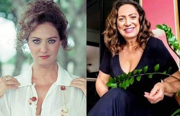 Eliane Giardini foi Santinha, a irmã da vilã Altiva (Eva Wilma). A atriz entrará em 'Amor de mãe' (Foto: TV Globo)