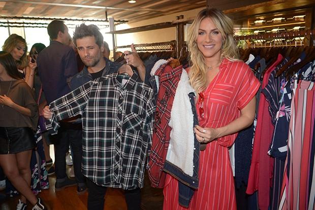 Giovanna Ewbank e Bruno Gagliasso (Foto: Francisco Cepeda/AgNews)