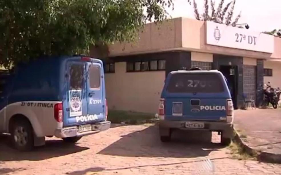 Caso é investigado pela 27ª DT/Itinga — Foto: Reprodução/TV Bahia