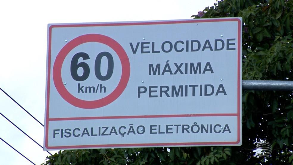 -  Radares seguem desligados há uma semana em Uberlândia  Foto: Reprodução/TV Fronteira