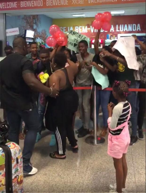Jojo Todynho desembarca em Angola (Foto: Reprodução/Instagram)
