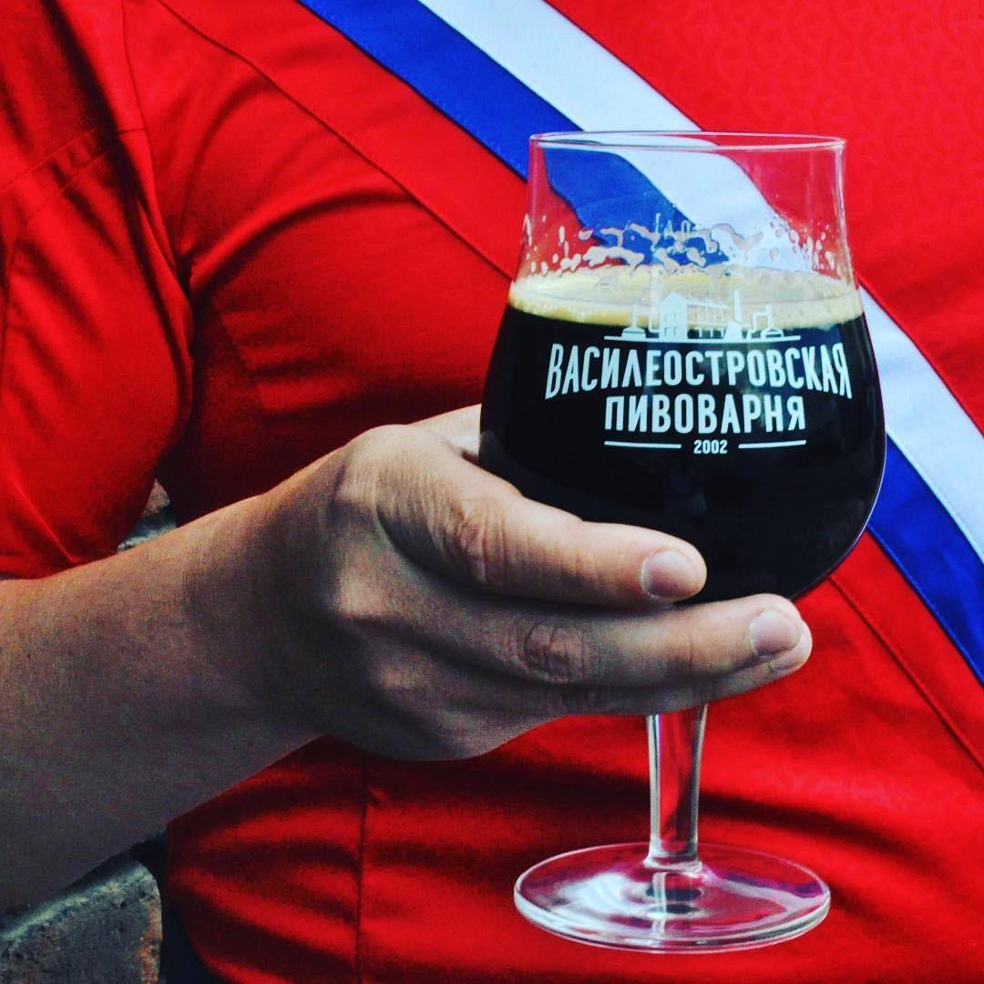 Cerveja da Vasileostrovskaya, fábrica de cervejas artesanais em São Petersburgo (Foto: Reprodução Instagram)