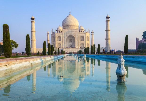Taj Mahal, em Agra, na Índia (Foto: Thinkstock)