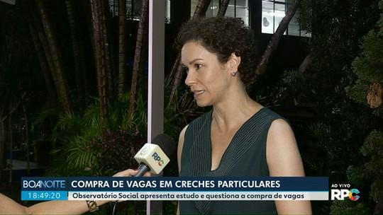 Observatório de Maringá questiona gasto do município na compra de vagas em creches particulares