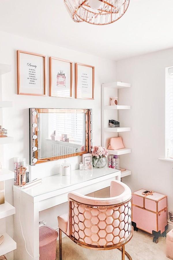 Espelho camarim: 7 jeitos fáceis de incorporar ao décor (Foto: Reprodução / Instagram @themarklandhome)