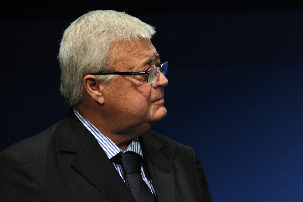 Ricardo Teixeira foi presidente da CBF entre 1989 e 2012 — Foto: Getty Images