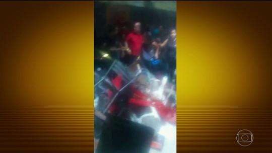 Mezanino de casa de eventos desaba e deixa 26 feridos em SP