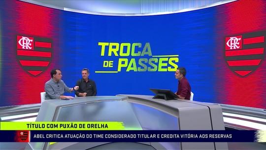 """Cereto elogia discurso de Abel e compara com estratégia de Felipão: """"Motiva todo mundo"""""""