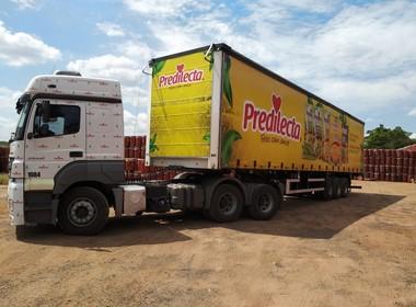 transporte-frota-caminhão-empresa-predilecta (Foto: Predilecta/Divulgação)