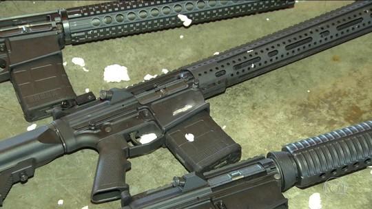 Dutra é principal rota do tráfico de armas do Paraguai para o RJ