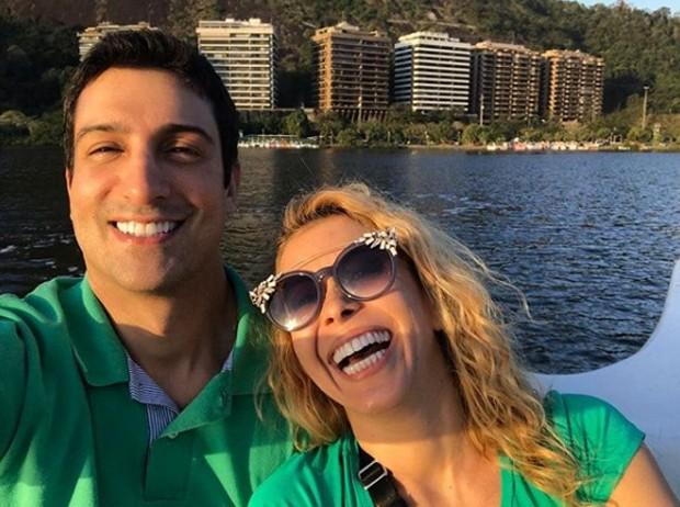 Joelma e Alessandro Cavalcante (Foto: Reprodução/Instagram)