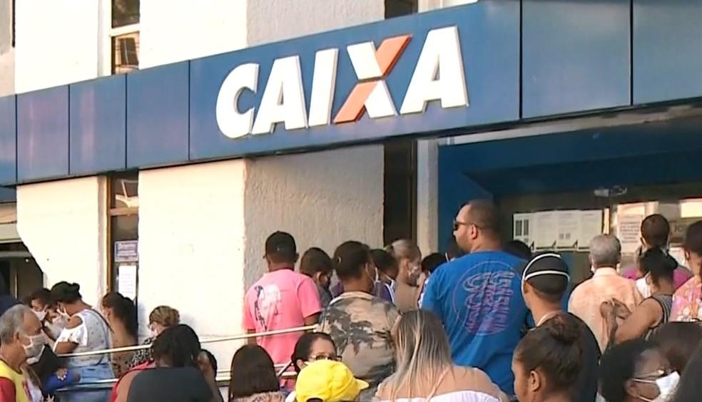 Caixa Econômica Federal abre 12 agências no Espírito Santo neste sábado (8) — Foto: Reprodução/TV Gazeta