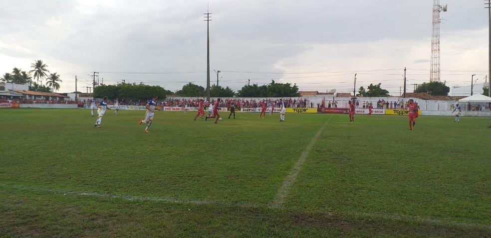 Freipaulistano goleia o Dorense no Estádio Ariston Azevedo — Foto: Reginaldo Goveia/FSF