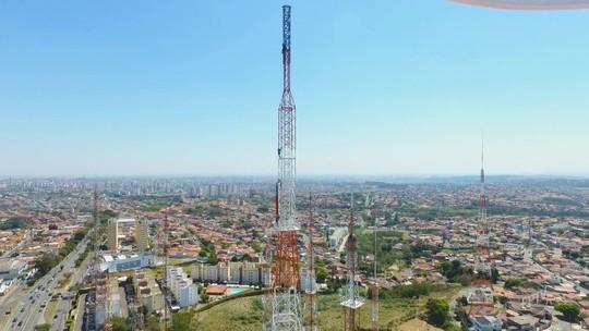 Sinal Digital: EPTV instala nova antena