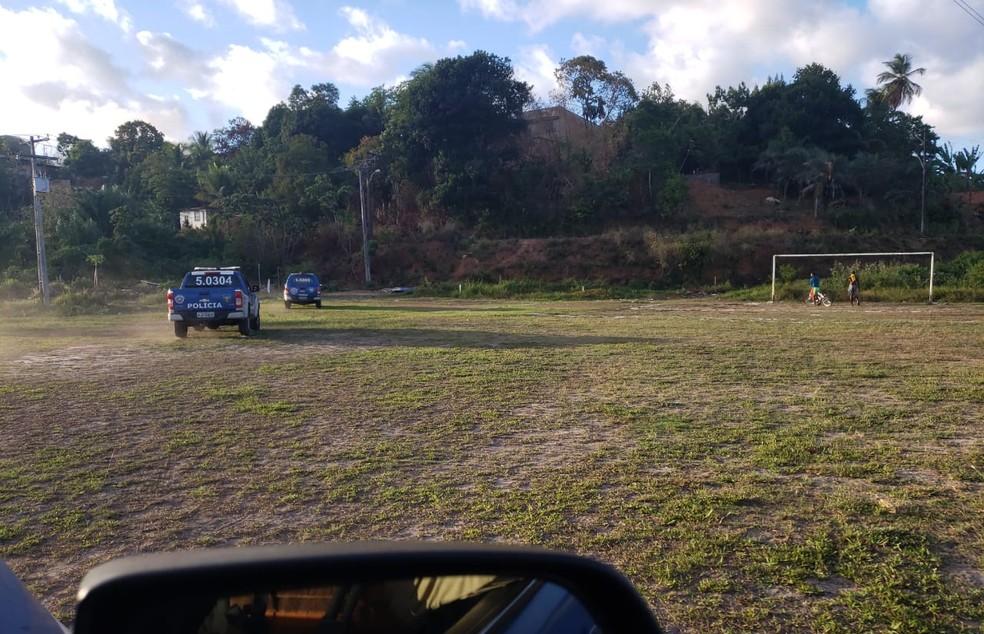 Adolescente seria morto  — Foto: Divulgação/SSP