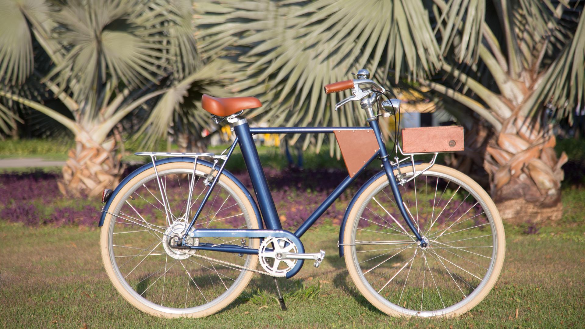 A Vela 1, lançada em 2015, com estilo mais clássico e feita para passeios - vai bem na ciclovia (Foto: Divulgação)