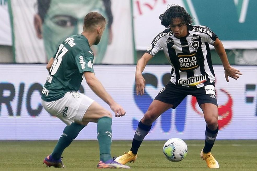 Matheus Nascimento é destaque do Botafogo — Foto: Vitor Silva/Botafogo