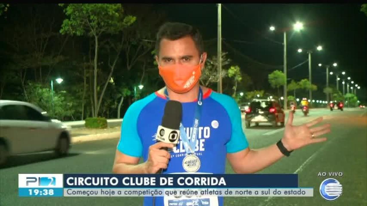 Repórter da Rede Clube narra como foi correr 10km do Circuito Clube Corrida Virtual