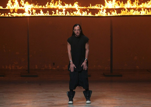 Rick Owens na Semana de Paris de 2012  (Foto: Getty Images)