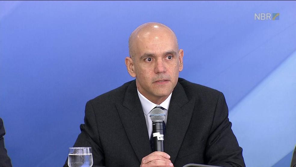 Marcelo Caetano, secretário nacional de Previdência Social (Foto: Reprodução/GloboNews/NBR)