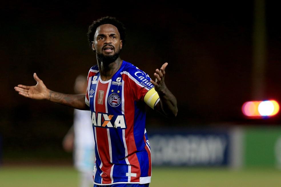 Renê Junior é um dos destaques do Bahia na temporada (Foto: Felipe Oliveira / Divulgação / E.C. Bahia)