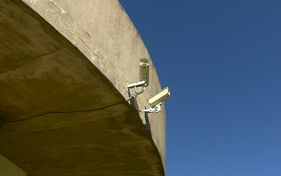 Câmeras do Observatório de Campinas registraram passagem do meteoro (Foto: Reprodução / EPTV)