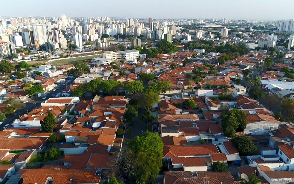 Concentração urbana de Campinas está entre as 10 maiores por valor do PIB — Foto: Reprodução/EPTV