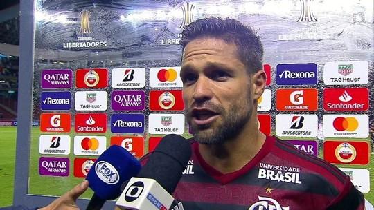 """Diego critica atuação do Flamengo e minimiza altitude de Quito: """"Não serve de desculpa"""""""