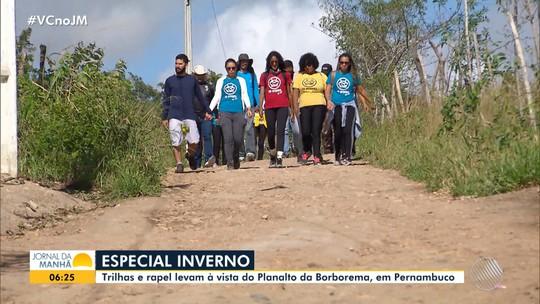 Inverno no Nordeste: trilhas e esportes radicais atraem turistas para Gravatá - PE