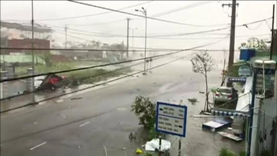 Tufão Damrey deixa morto e desaparecidos no Vietnã