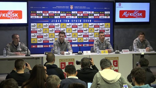 Novos rostos e trocas de poder geram incertezas na seleção da Sérvia