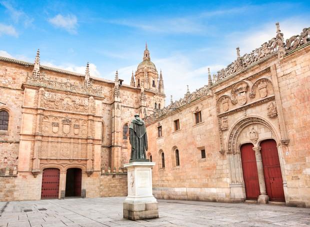 Universidade de Salamanca, na Espanha (Foto: Thinkstock)