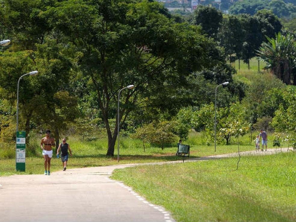 Parque Ecológico de Águas Claras — Foto: Nilson Carvalho/Agência Brasília