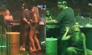 André Marques foi o DJ de uma das festas do 'BBB' 11. O clima esquentou muito entre o ator e Natalia. 'O André enfiou a mão por baixo do vestido da Nati', contou o participante Diogo aos colegas na época | Reprodução
