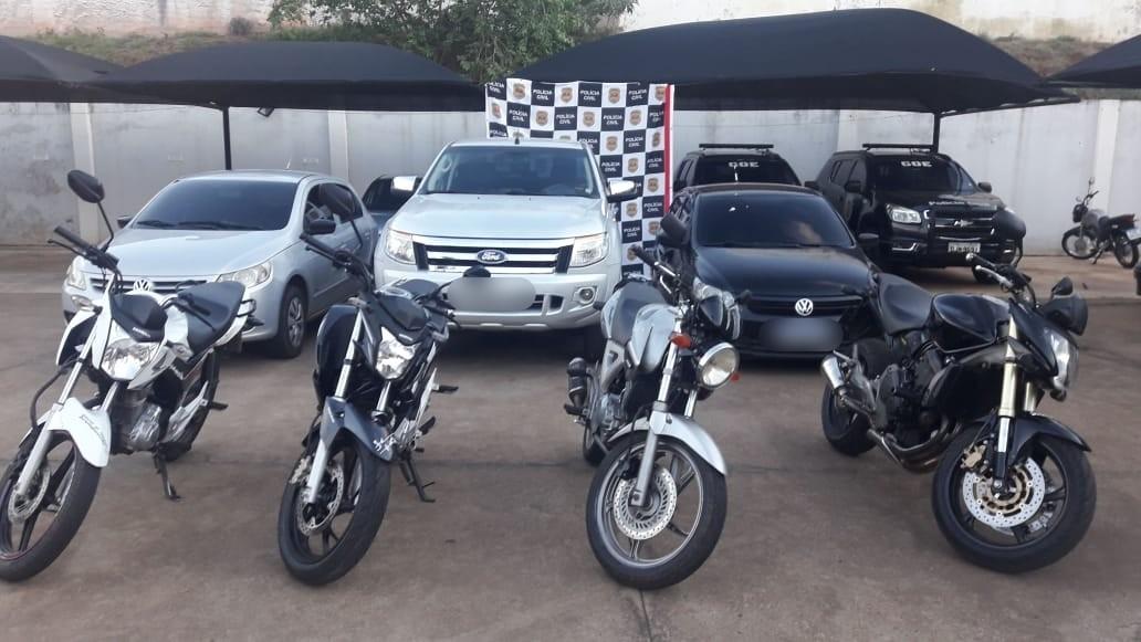 Polícia Civil de Jaú apreende veículos e prende grupo em operação contra o tráfico de drogas