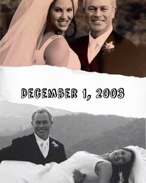 O ato Neal McDonough com a esposa (Foto: Instagram)