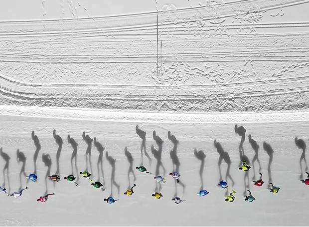 Concurso internacional de fotografia com drone (Foto: Vincent Riemersma/Reprodução)