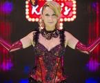 Katiuscia Canoro como Lady Kate | Raphael Dias/TV Globo