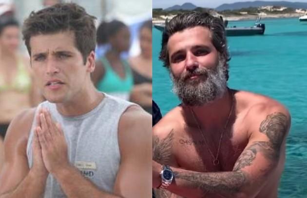 """Atualmente no elenco de """"Santo"""", série da Netflix, Bruno Gagliasso viveu Ivan, rapaz de caráter duvidoso que se envolvia com Taís (Foto: Reprodução)"""