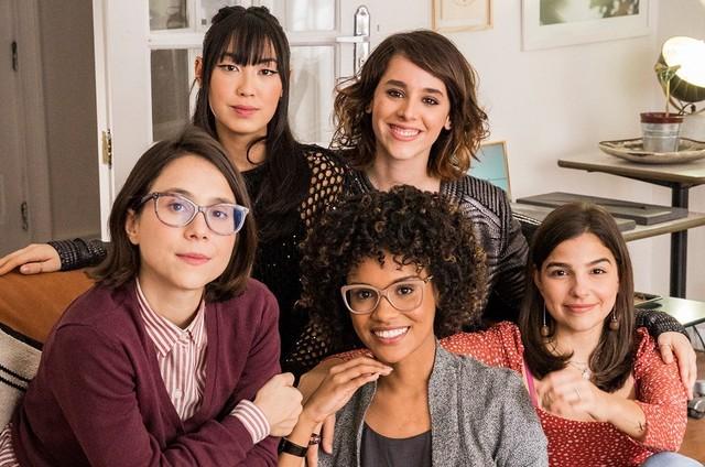As protagonistas de 'As five', do Globoplay (Foto: Divulgação)