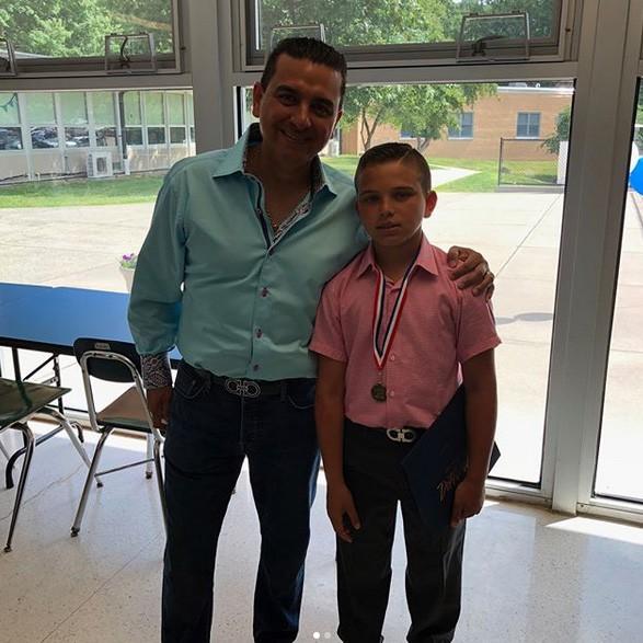 Buddy Valastro com o filho (Foto: Instagram)