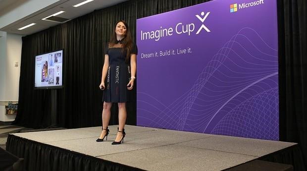 Menzer Pehlivan, durante palestra na Imagine Cup, competição realizada pela Microsoft (Foto: Divulgação)