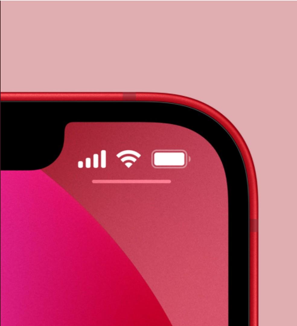 iPhone 13 bateria — Foto: Divulgação/Apple