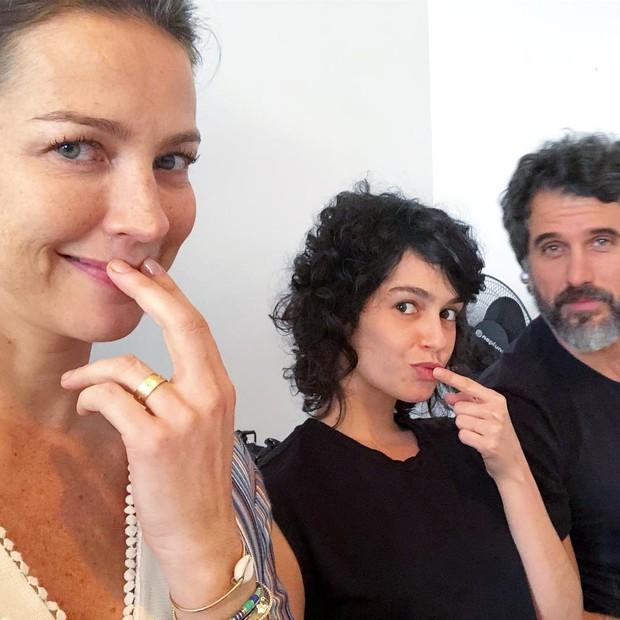 Luana Piovani, Maria Flor e Eriberto Leão (Foto: Reprodução/Instagram)